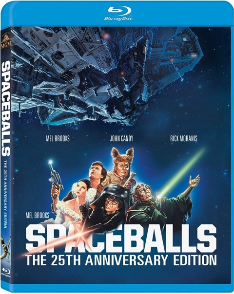 BLU-RAY MOVIE Blu-Ray SPACEBALLS - 25TH ANNIVERSARY EDITION