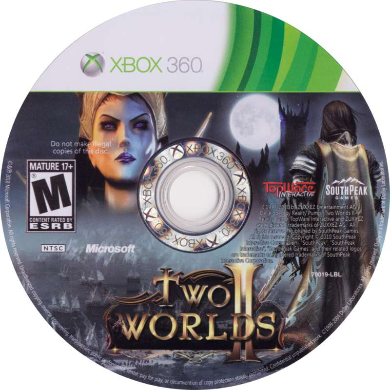 MICROSOFT Microsoft XBOX 360 Game TWO WORLDS 2