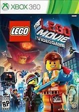 MICROSOFT XBOX 360 Game THE LEGO MOVIE VIDEOGAME XBOX 360
