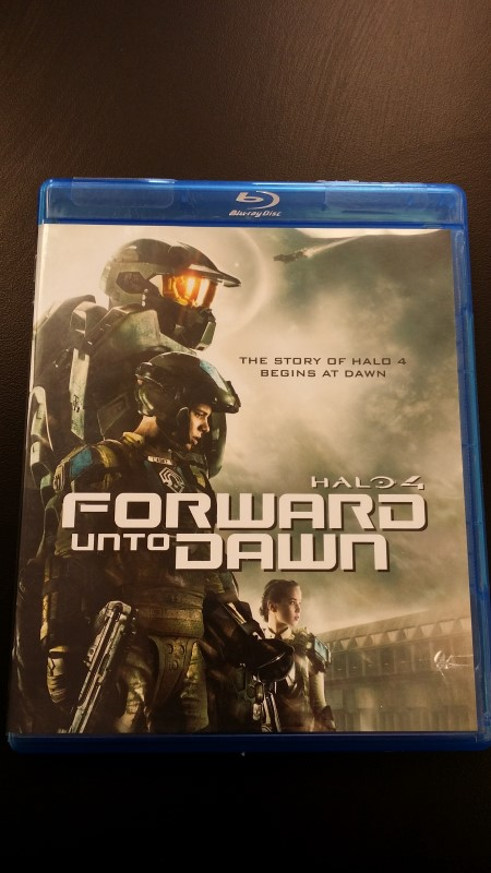BLU-RAY MOVIE Blu-Ray HALO 4 FORWARD UNTO DAWN