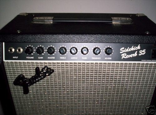FENDER Electric Guitar Amp SIDEKICK 35 REVERB