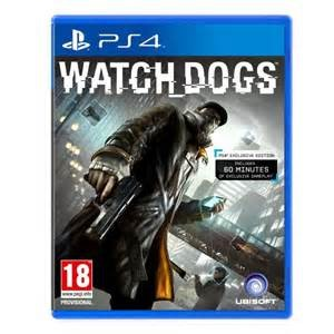 SONY Sony PlayStation 4 Game GAME WATCHDOGS