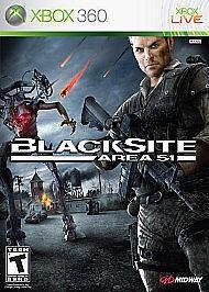 MICROSOFT Microsoft XBOX 360 Game BLACKSITE AREA 51 360