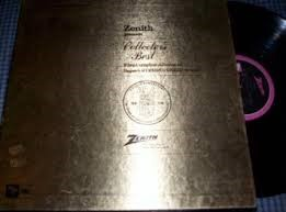 ZENITH Record COLLECTOR'S BEST FIVE COMPLETE ALBUMS 50TH ANNIVER