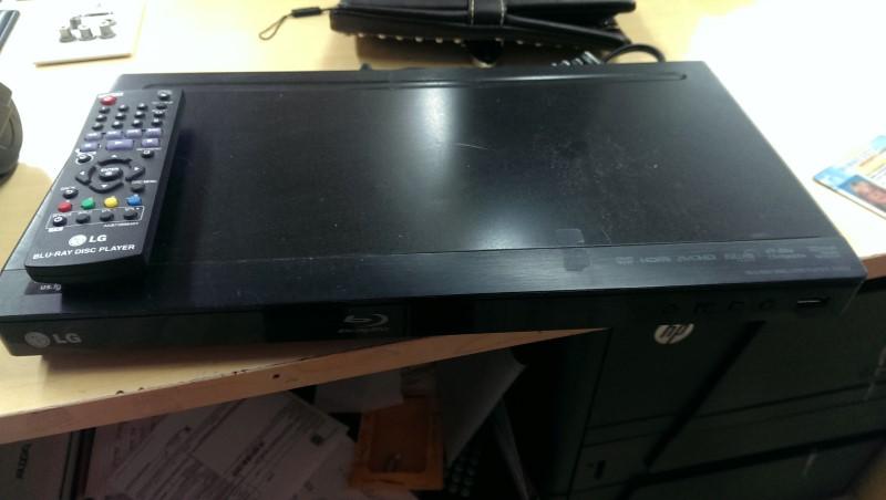 LG DVD Player BD610
