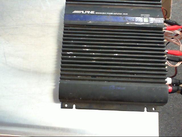 ALPINE ELECTRONICS Car Amplifier 3548