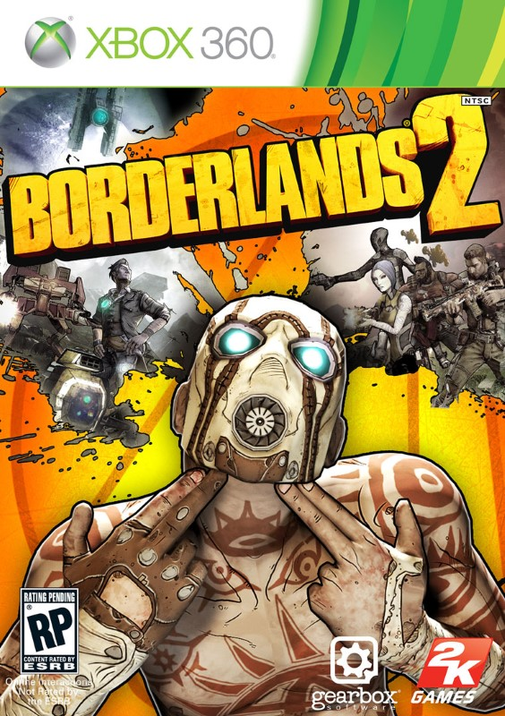 MICROSOFT Microsoft XBOX 360 Game XBOX 360 BORDERLANDS 2