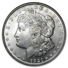 UNITED STATES Silver Coin MORGAN 1921-S
