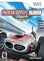 NINTENDO Nintendo Wii Game INDIANAPOLIS 500 LEGENDS WII