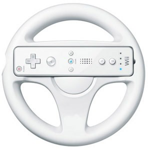 NINTENDO Video Game Accessory STEERING WHEEL