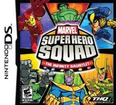 NINTENDO Nintendo DS Game MARVEL SUPER HERO SQUAD THE INFINITY GAUNTLET DS