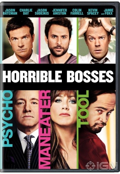 BLU-RAY MOVIE Blu-Ray HORRIBLE BOSSES