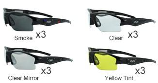 GLOBAL VISION EYEWEAR Sunglasses LIGHTSHOW AST