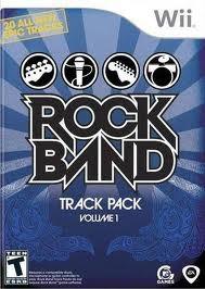NINTENDO Nintendo Wii Game ROCK BAND TRACK PACK VOLUME 1