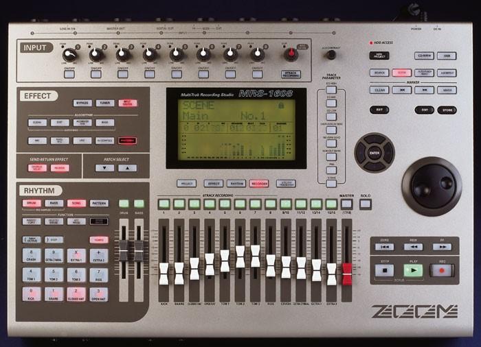 ZOOM Mixer MRS-1608
