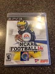SONY Sony PlayStation 3 Game NCAA FOOTBALL 2014
