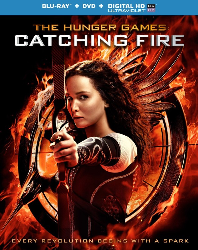 THE HUNGER GAMES:CATCHING FIRE BLU-RAY DVD