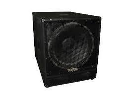 YAMAHA Speakers/Subwoofer SW1181V