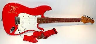 ARIA Electric Guitar BUDWEISER GUITAR (STRAT)