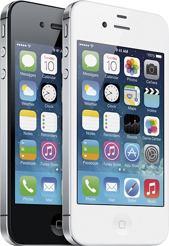APPLE Cell Phone/Smart Phone IPHONE 4S MF258LL/A - 8GB