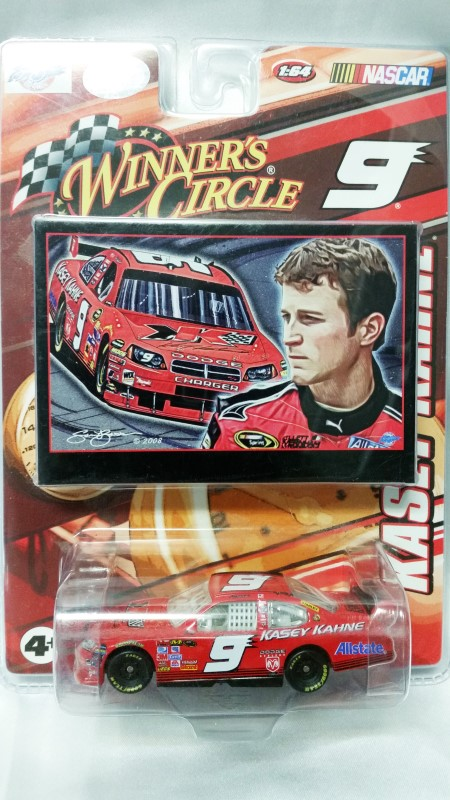 WINNERS CIRCLE 1:64 SCALE CAR #9 KASEY KAHNE CAR