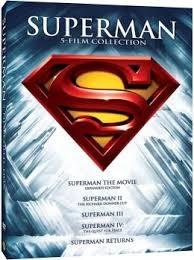 DVD MOVIE DVD SUPERMAN 5-FILM COLLECTION