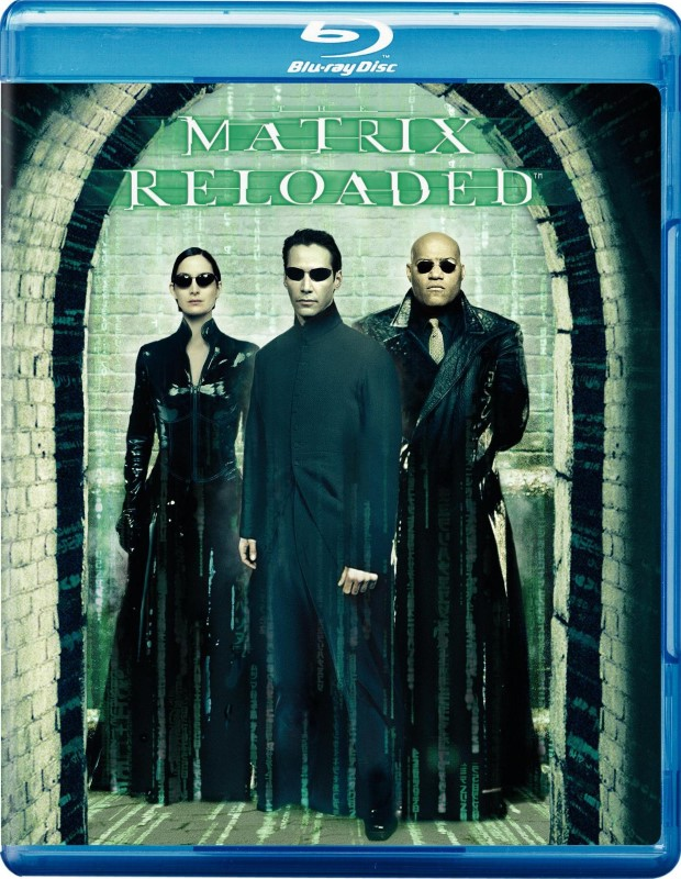 BLU-RAY MOVIE Blu-Ray MATRIX RELOADED