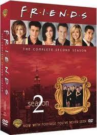 DVD BOX SET DVD FRIENDS SEASON 2