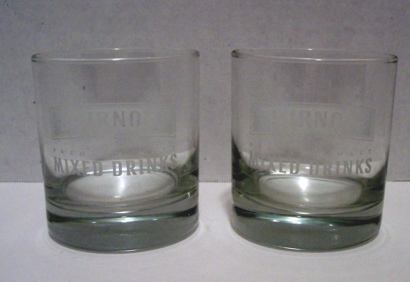 SMIRNOFF Glassware MALT GLASS