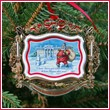 Collectible Plate/Figurine CHRISTMAS ORNAMENTS