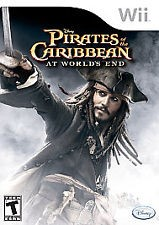 NINTENDO Nintendo Wii Game WII PIRATES OF THE CARIBBEAN AT WORLDS END