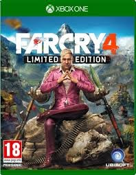 MICROSOFT Microsoft XBOX 360 Game FAR CRY 4 LIMITED EDITION