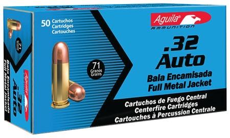 AGUILA AMMO Ammunition .32 ACP (1E322110)