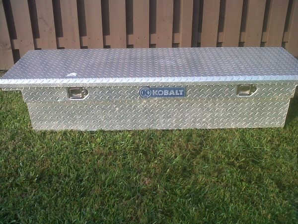 KOBALT TOOLS Tool Box DIAMOND PLATE TRUCK TOOL BOX