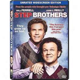DVD MOVIE DVD STEP BROTHERS UNRATED WIDESCREEN