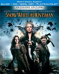 BLU-RAY MOVIE Blu-Ray SNOW WHITE & THE HUNTSMAN EXTENDED EDITION W/ SLIP COVER