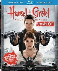 BLU-RAY MOVIE Blu-Ray HANSEL & GRETEL WITCH HUNTERS UNRATED CUT