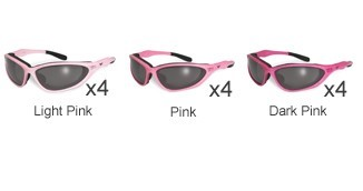 GLOBAL VISION EYEWEAR Sunglasses U2 PINK CF SM A/F