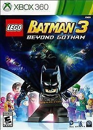 MICROSOFT Microsoft XBOX 360 Game LEGO BATMAN 3 BEYOND GOTHAM - 360