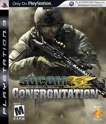 SONY Sony PlayStation 3 Game SOCOM US NAVY SEALS CONFRONTATION