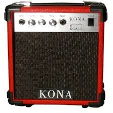 KONA GUITARS Electric Guitar Amp KCA15RD - RED GUITAR AMP