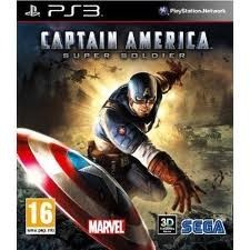 SONY Sony PlayStation 3 Game CAPTAIN AMERICA SUPER SOLDIER