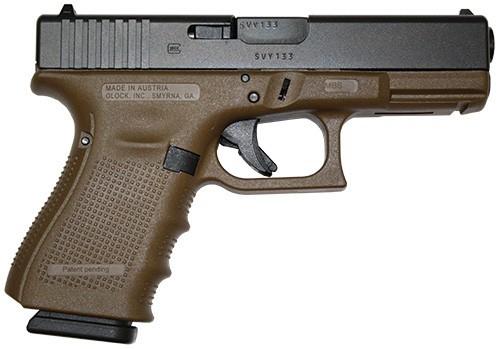 GLOCK Pistol G19 G4 FDE