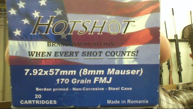 HOTSHOT AMMUNITION Ammunition AM19990