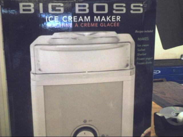 BIG BOSS Refrigerator/Freezer ICE CREAM MAKER