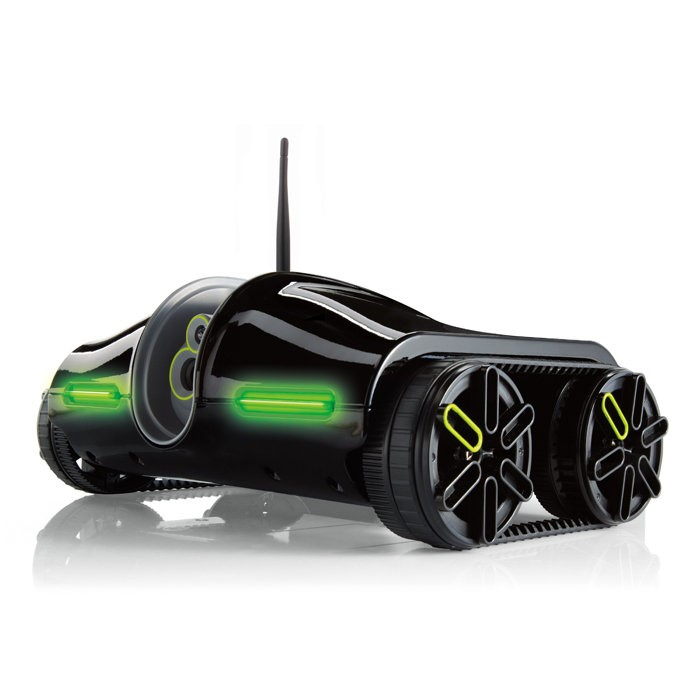 BROOKSTONE Camcorder ROVER 2.0 THE APP-CONTROLLED WIRELESS SPY TANK