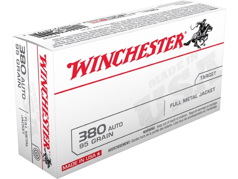 WINCHESTER Ammunition 380 AMMO