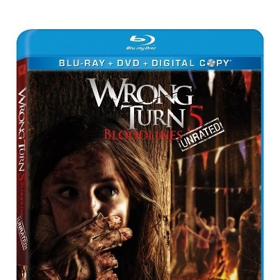 WRONG TURN: BLOODLINE,  BLU-RAY DVD MOVIE