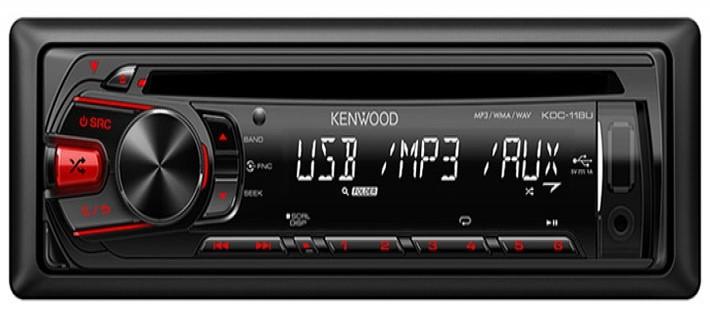 KENWOOD Car Audio KDC-122U