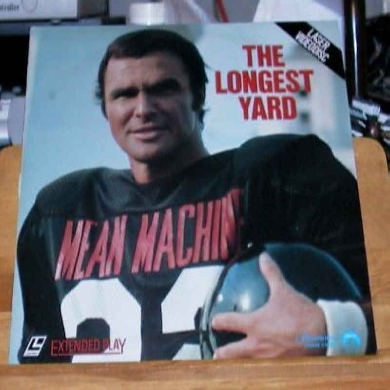 LASER DISC Laser Disk THE LONGEST YARD